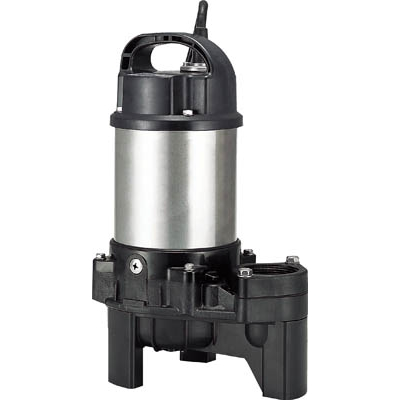 ツルミ 樹脂製汚物用水中ハイスピンポンプ 50HZ 40PU2.25S 50HZ