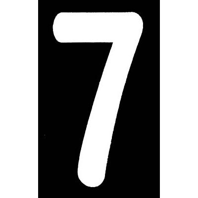 新富士 ロードマーキング ナンバーS 7 RM107