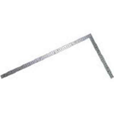 曲尺厚手広巾 シルバー30cm建築・鉄工用 表裏目盛 8段cm数 10451