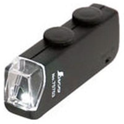シンワ ルーペH ポケット型顕微鏡 LEDライト付 75753