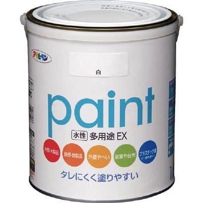 アサヒペン 水性多用途EX 1.6L 白 459619