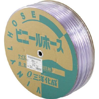 サンヨー 透明ホース8×10 100mドラム巻 TM810D100T