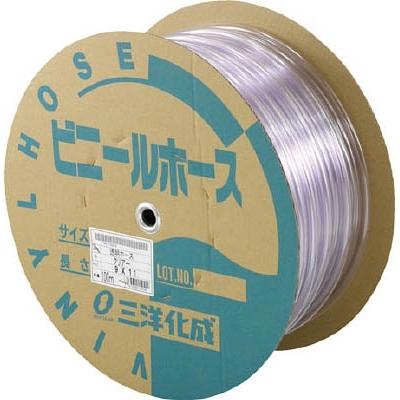 サンヨー 透明ホース9×11 100mドラム巻 TM911D100T