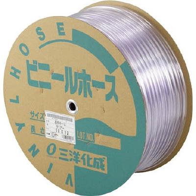 サンヨー 透明ホース10×12 100mドラム巻 TM1012D100T