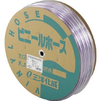 サンヨー 透明ホース12×15 50mドラム巻 TM1215D50T