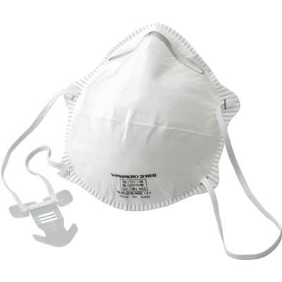 TRUSCO 使い捨て式防じんマスク DS2 10枚入 TR-3100B