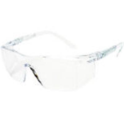 TRUSCO 一眼型安全メガネ オーバータイプ レンズ透明 TSG-309TM