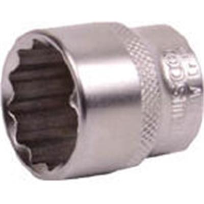 TRUSCO ソケット(12角) 差込角12.7 対辺22mm TS4-22W