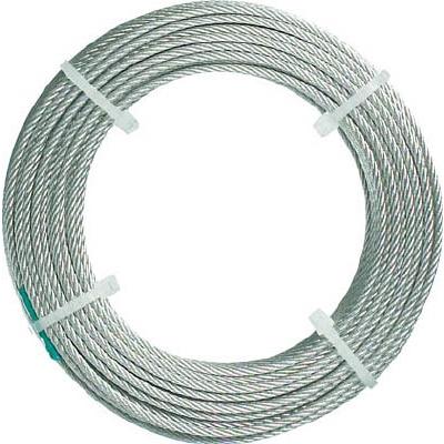 TRUSCO ステンレスワイヤロープ ナイロン被覆 Φ2.0(2.5)mmX50 CWC-2S50