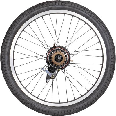 TRUSCO THR−5520用 ノーパンクタイヤ 後輪 THR20TIRER