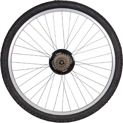 TRUSCO THR−5526用 ノーパンクタイヤ 後輪 THR26TIRER