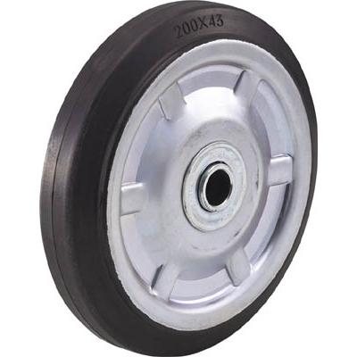TRUSCO 二輪運搬車用車輪 Φ200ゴム車輪 2011/4011用 P200G