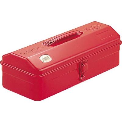 TRUSCO 山型工具箱 359X150X124 レッド  Y-350-R