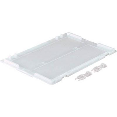 TRUSCO α折りたたみコンテナ用フタ TR−S20用 透明 TR-S201F TM
