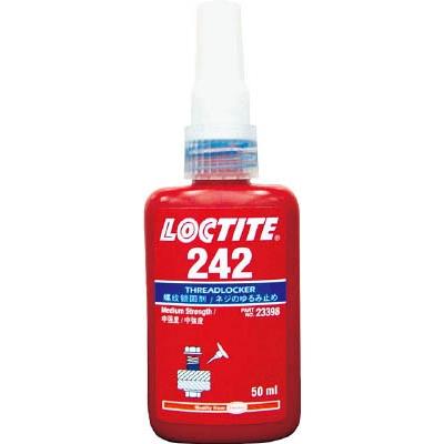 ロックタイト ネジロック剤 242 50ml 242-50