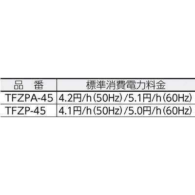 """TRUSCO 45CM全閉式工場扇""""ゼフィール""""(本体)  TFZP-45"""