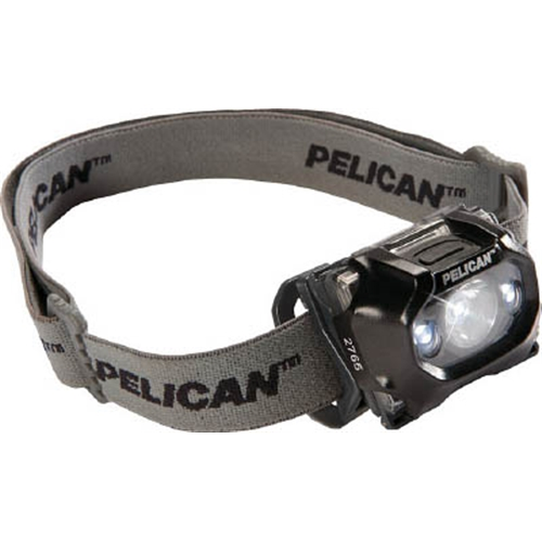 PELICAN 2765 ヘッドアップライト 黒 0276500100110