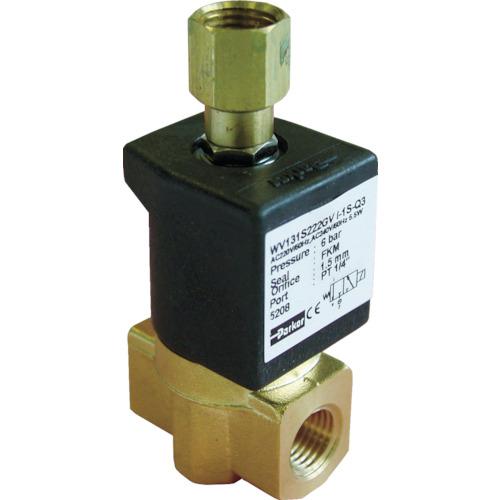 クロダ 流体制御用直動形3ポートバルブ WV131S222JV-I-1S-C2-11W