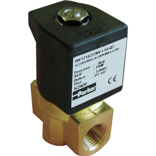 クロダ 流体制御用直動形2ポートバルブ WV121S221NV-I-1S-C2