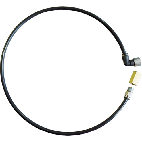 日平 3/8エアーリール用1次側接続ホース(両端金具付80cm)FT2