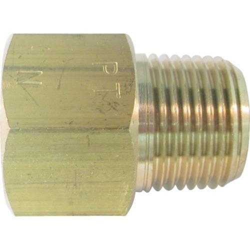 ASOH 黄銅製 変換内外ソケット 外PT1/4×内NPT1/4 NF3022