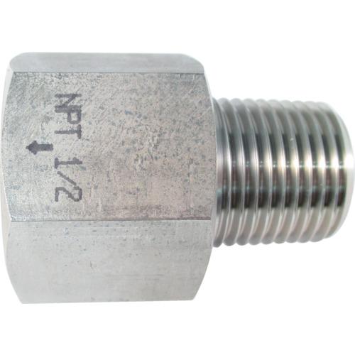 ASOH ステンレス製 変換内外ソケット 外PT1/2×内NPT1/2 NF8344