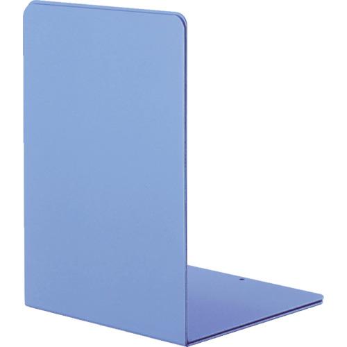 ナカバヤシ ブックエンドLタイプ Lサイズ マットブルー BE-L302-MB
