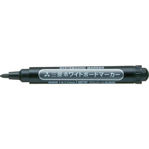 uni 三菱鉛筆/ホワイトボードマーカー/細字/黒 PWB2M.24