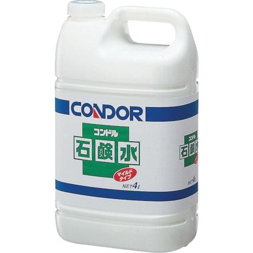 コンドル (手洗い用洗剤)石鹸水 4L C5804LXMB