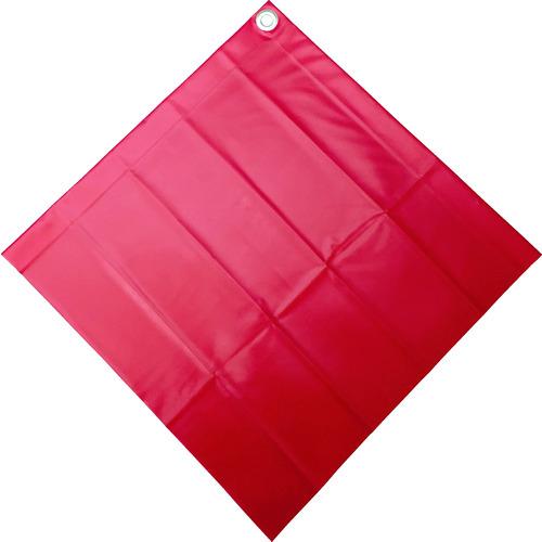 ユタカ 安全表示旗(ハトメ 無地) AF5229