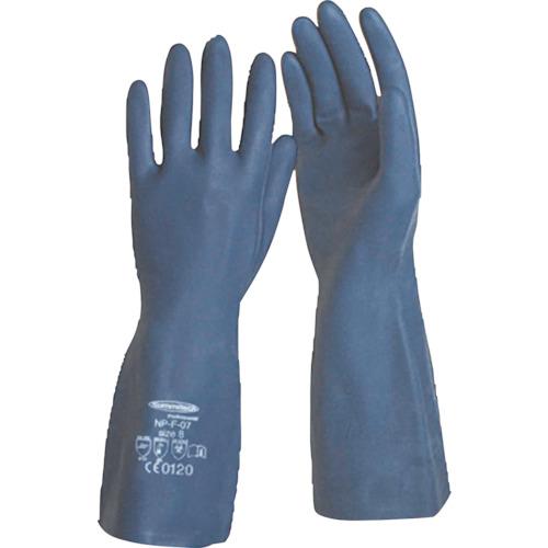 """サミテック 耐油・耐溶剤手袋""""サミテックNP−F−07"""" L ダークブルー 4486"""