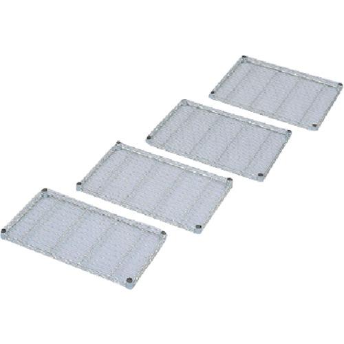 IRIS メタルラックミニ用棚板(セット内容:棚板1枚+棚板固定部品4組) 550×450×33 MTO545T