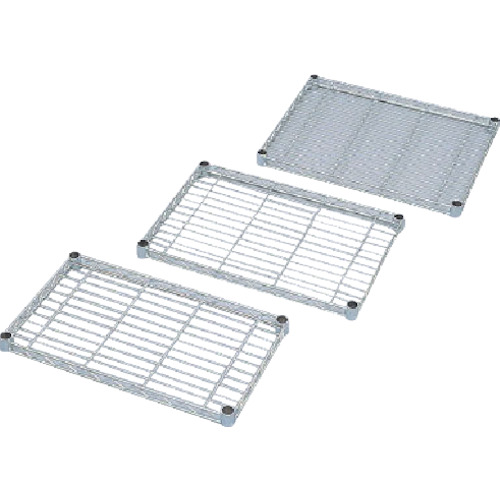 IRIS メタルラックミニ用棚板(セット内容:棚板1枚+棚板固定部品4組) 450×250×33 MTO425T