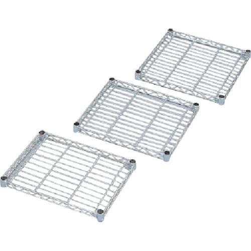 IRIS メタルラックミニ用棚板(セット内容:棚板1枚+棚板固定部品4組) 400×400×33 MTO4040T