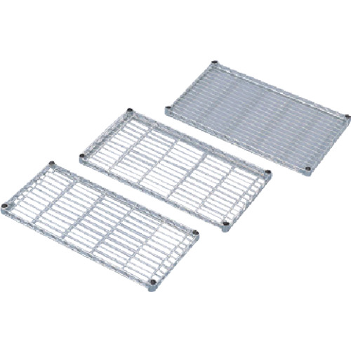 IRIS メタルラックミニ用棚板(セット内容:棚板1枚+棚板固定部品4組) 650×300×33 MTO6530T