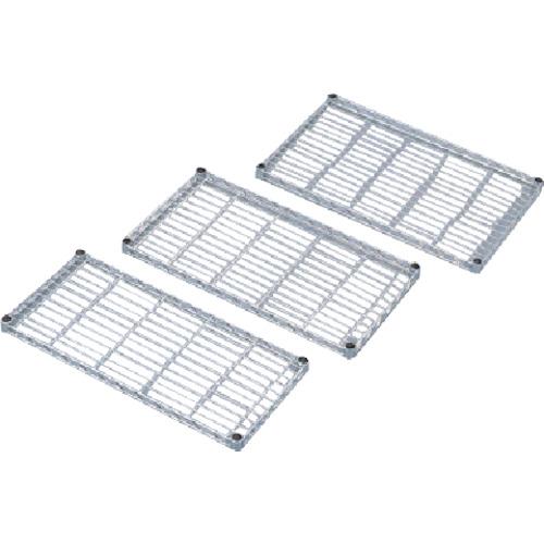 IRIS メタルラックミニ用棚板(セット内容:棚板1枚+棚板固定部品4組) 650×400×33 MTO6540T
