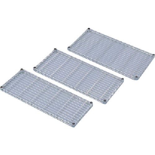 IRIS メタルラックミニ用棚板(セット内容:棚板1枚+棚板固定部品4組) 700×400×33 MTO7040T