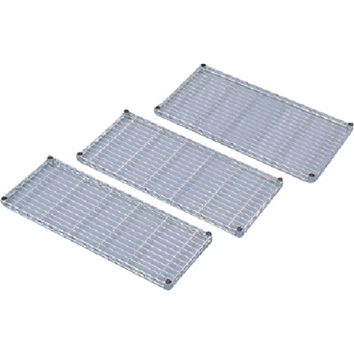 IRIS メタルラックミニ用棚板(セット内容:棚板1枚+棚板固定部品4組) 750×400×33 MTO7540T