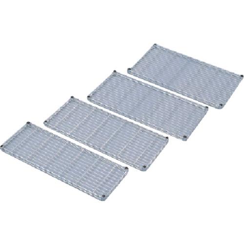 IRIS メタルラックミニ用棚板(セット内容:棚板1枚+棚板固定部品4組) 800×400×33 MTO8040T