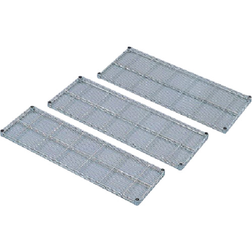 IRIS メタルラックミニ用棚板(セット内容:棚板1枚+棚板固定部品4組) 950×300×33 MTO9530T