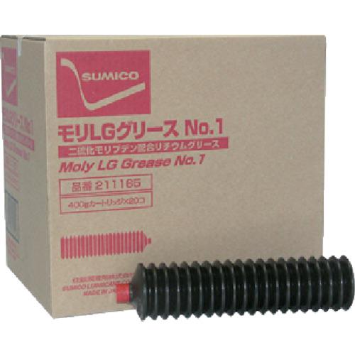 住鉱 グリース(高荷重用リチウムグリース) モリLGグリースNo.1 400g LGG-04-1