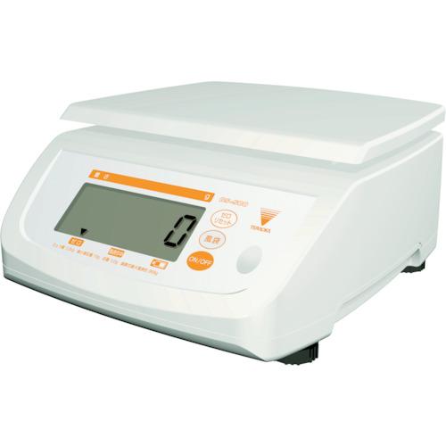 テラオカ 防水型デジタル上皿はかり DS-500K20