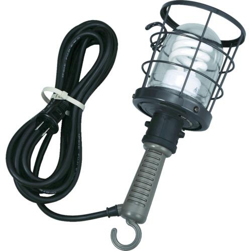 ハタヤ 防雨型蛍光灯ハンドランプ 単相100V 10W 電線5m付 CWF5D
