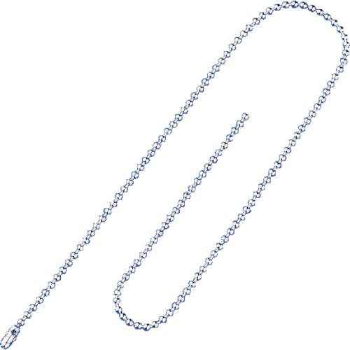 緑十字 玉鎖C 10本1組 2.5mmφ×400mm 真鍮クロームメッキ 170030
