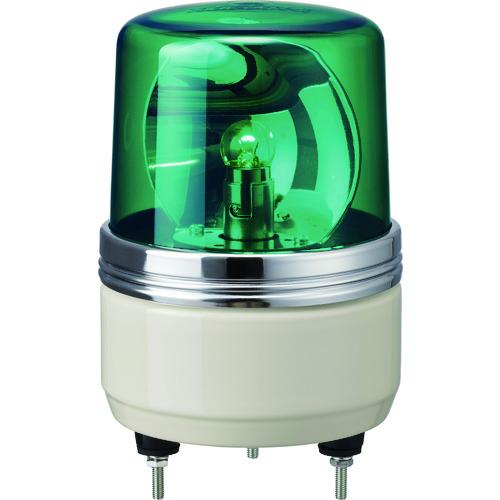 パトライト SKH−EA型 小型回転灯 Φ100 緑 SKH-100EA(SKH-100E)GN(グリーン AC100V)