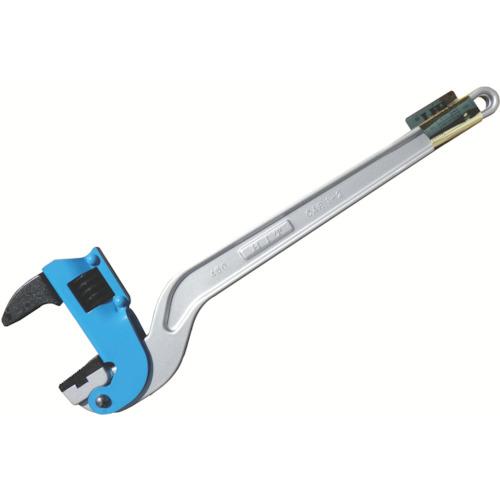 HIT ブルー アルミコーナーパイプレンチ 白管、被覆管 兼用 450mm ACPW-450J