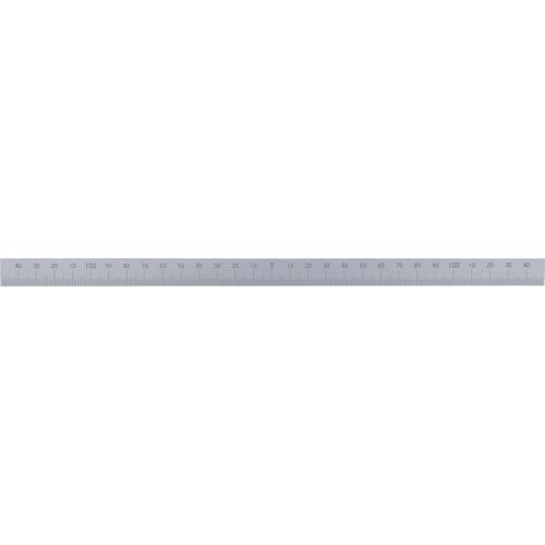 シンワ マシンスケール300mm下段左右振分目盛穴無 14162