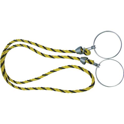 TRUSCO カラーコーン用ロープ 標識 12mmX2m TCC-30