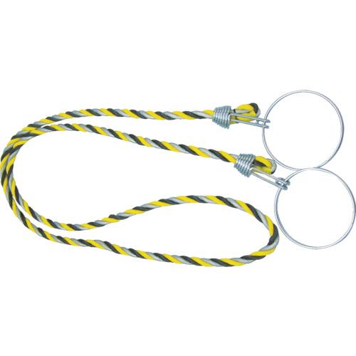 TRUSCO カラーコーン用ロープ 反射標識 12mmX2m TCC-31