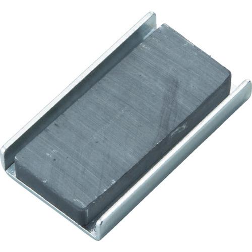 TRUSCO キャップ付フェライト磁石20mmX8.4mmX4.2mm10個 TFC20K-10P